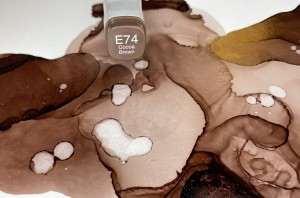 E74 Cocoa Brown - Various Ink.
